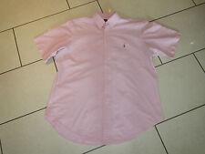 Ralph Lauren Freizeithemd  Hemd Original Gr.L Classic Fit  Hell Rosa