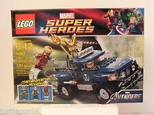LEGO 6867 Marvel Superheroes, Loki's Cosmic Cube Escape, New and Factory Sealed