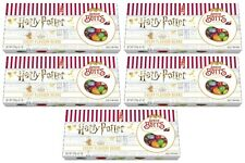 5x Harry Potter Bertie Botts Every Flavour Beans 125g Gift Box