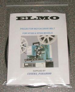 ELMO XP350 XP550 XENON PROJECTOR MOTOR DRIVEBELT