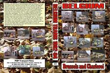 3039. Belgium. Trams. Brussels and Charleroi. Brussels 7/8 th Nov 1992, 13th Dec