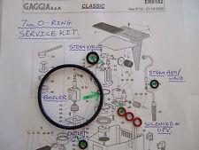 2x Gaggia Classic Baby Evolution 7xO Ring Service/Repair kits EPDM Boiler,1stP&P