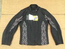"RK SPORTS TINA Ladies Leather Motorbike/ Motorcycle Jacket UK12 (36"" Chest) J57"
