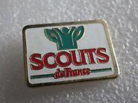 Pin's vintage collector pins collection pub SCOUTS DE FRANCE  LOT PO106