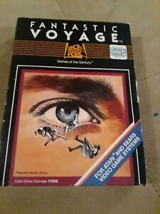 Fantastic Voyage by 20th Century Fox for Atari 2600 ▪︎ Free Shipping ▪︎