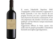 """6 BT.  VALPOLICELLA DOC SUPERIORE """"CAMPOGADIS """" 2013 RUFFO ERNESTO (DA 09.18)"""