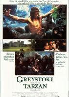 Greystoke - Die Legende von Tarzan, Herr der Affen ORIG. A1 Kinoplakat C Lambert
