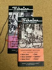 SCHWINN1967 Lightweights Bicycles Owners Manual BUNDLE- Original NOS