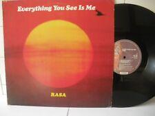 Rasa Everything you see is me 1979  LP 33 Giri (ML23)