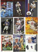 DREW BLEDSOE 100 CARD LOT INSERTS ROOKIE NEW ENGLAND PATRIOTS TOPPS CHROME $100+