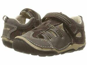 NIB STRIDE RITE Outdoor Shoes Sandals Reggie Brown 5 7 7.5 8 8.5 M XW