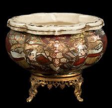 Japan 20. Jh. Schale A Japanese 'Kyoto / Osaka' Pottery Bowl Japonais giapponese