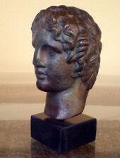 Alexander the Great Macedonian Bust- Bronze Effect - King Of Vergina