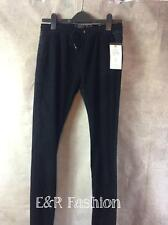 Zara Trousers With Denim Back and Corduroy Front Size UK 6 B23 Ref 6855 005