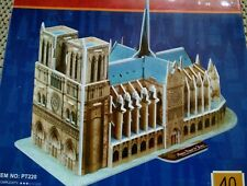 Milagros Notre Dame De Paris Great Architecture 3D Foam Puzzle