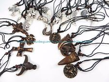 US SELLER -  20 pieces  inspired pendant necklaces hippie jewelry