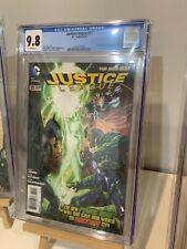 JUSTICE LEAGUE #31 CGC 9.8 1st Full App Jessica Cruz