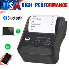 58mm Mini Bluetooth Wireless Pocket Mobile Escpos Thermal Receipt Printer Y0t0