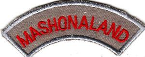 Boy Scout Badge MASHONALAND Zimbabwe