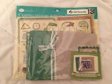 Girl Scout Camping Memory Activity Kit Scrapbook 7x5 GSUSA K & Company NEW