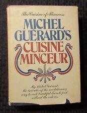 1976 CUISINE MINCEUR by Michel Guerard HC/DJ FN/VG- William Morrow Co.