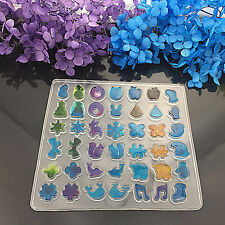 DIY Clear Silicone Ear Stud Earring Mold Making Jewelry Resin Casting Mould Tool