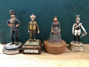Stadden & Others: Assorted Model Figures. 54-70mm Scale Metal Models. Post War