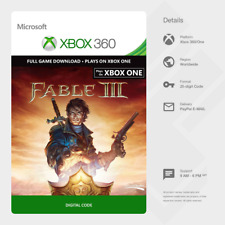 Fable III 3 (Xbox 360/One) - Digital Code [GLOBAL]