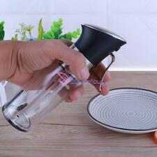 2 in 1 Kitchen Oil Vinegar Sprayer Olive Mister Spray Pump Fine Bottle Cooking
