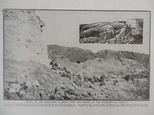 1916 VERDUN RUINS OF FORT DOUAUMONT WWI WW1