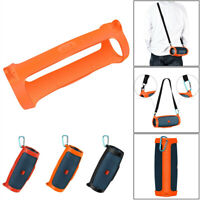 For JBL Charge 4 Bluetooth Speaker Portable Mountaineering Silicone Case