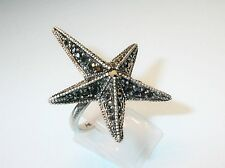 Pilgrim Damen-Ring  aus der Serie Big rings versilbert,grau 3.7 cm  271336124