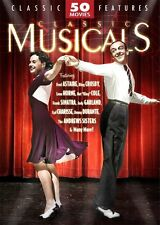 CLASSIC 50 MUSICALS  Movie Pack (DVD, 2005, 12-Disc Set) BNISW OVER 66 HOURS