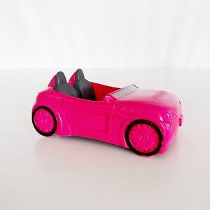 Barbie McDonalds Hot Pink Convertible Car 2015 Toy
