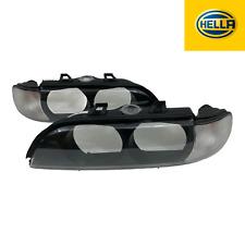 HELLA Design Blinkleuchtensatz BMW 5er E39 SET links + rechts Streuscheibe ECE