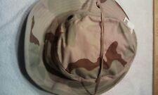 Three Color Desert Boonie Hat Sun Hot Weather Size 6 5/8