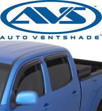 AVS 94405 Tape-On Window Shades Ventvisor Smoke 4Pc 01-04 Toyota Tacoma Crew Cab