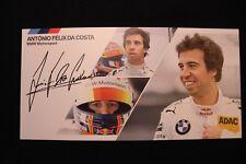 Card BMW Motorsport Team MTEK Red Bull DTM 2014 #18 António Félix Da Costa Sign