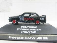 Herpa BMW m3 Deutsche Viaggi Carrello trofeo OVP (l6757)