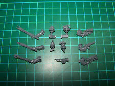 Adeptus Mechanicus Skitarii Alpha Heads and Weapons (bits)