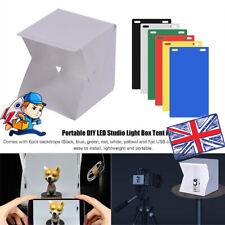 Photo Studio Lighting Mini Box Portable Photography Backdrop LED Light Room Tent