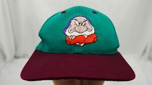 Snow White Grumpy Dwarf Hat Green Kids Snapback Baseball Cap Pre-Owned ST204