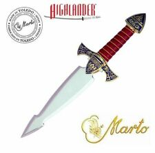 The Best of Highlander Dagger Gold by Marto of Toledo Spain Sword Stiletto Blade