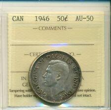 CAN ICCS 1946 50 cents AU-50 XHF 539