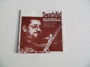 SwarbAid - Dave Swarbrick with Fairport Convention - Birmingham 1999 - CD (1).