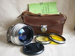 KMZ HELIOS-40 8,5cm f/1,5 M39/42 for Zenit Lens Red P
