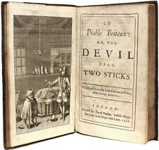 Le SAGE - Le Diable Boiteux: or The Devil Upon Two Sticks - 1708 - FIRST EDITION