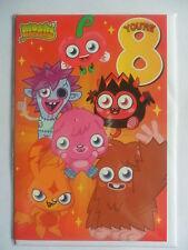 Moshi Monsters Age 8 Birthday Card