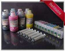 Rihac Refillable Starter Kit for Epson R3000 using 157 T157120-T157920 cartridge