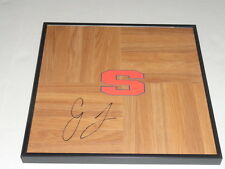 CJ FAIR SIGNED FRAMED 12X12 FLOORBOARD SYRACUSE ORANGE SUPERSTAR #1 C.J.
